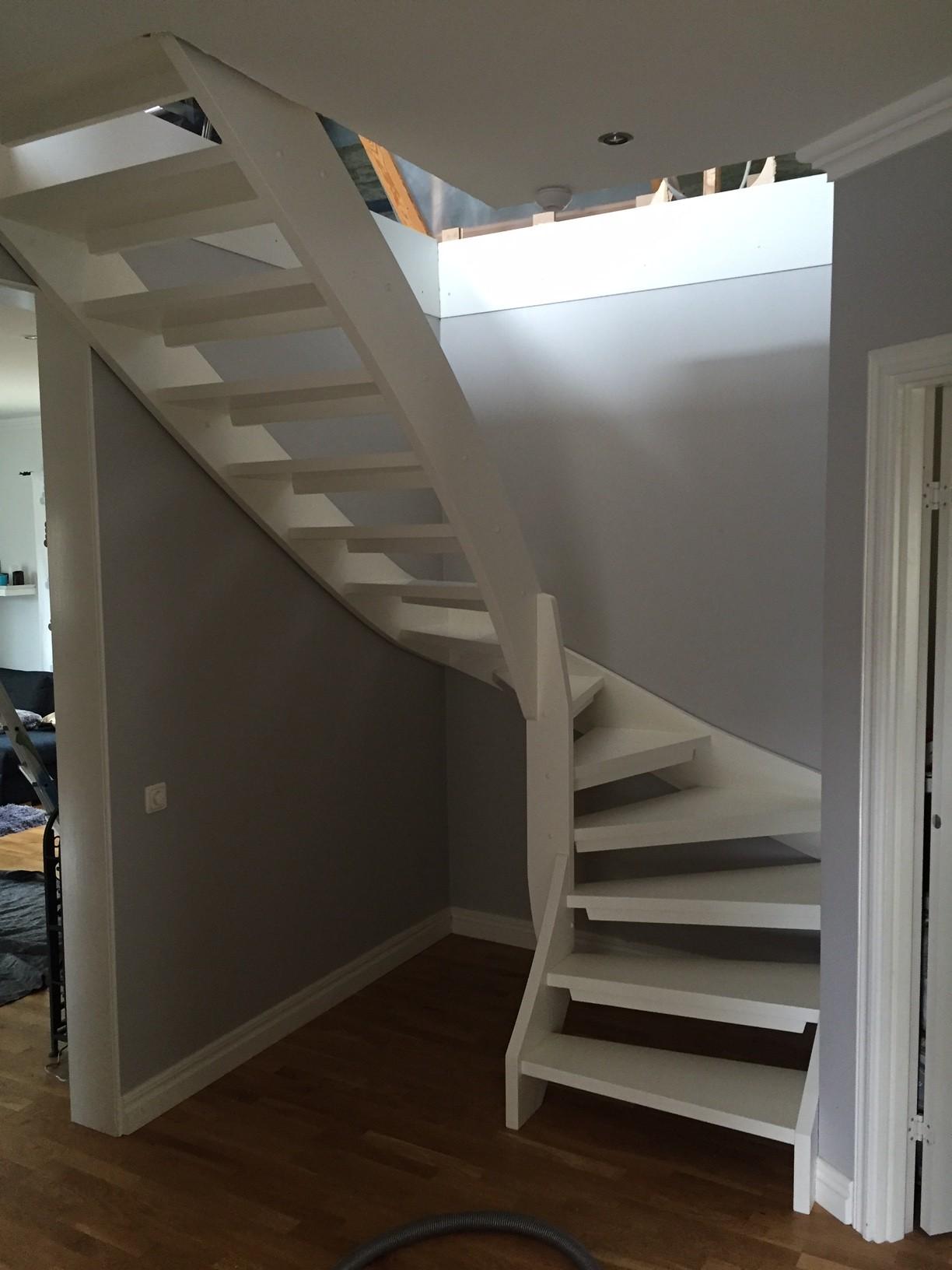 Montering av trapp